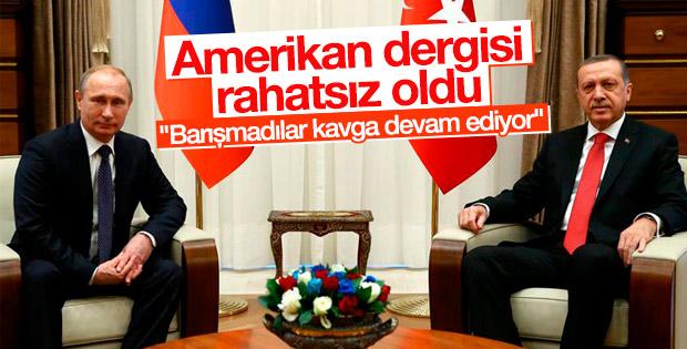 Foreign Policy: Rusya ve Türkiye'nin soğuk savaşı sürüyor
