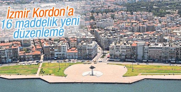 İzmir Kordon'a 16 maddelik yeni düzenleme