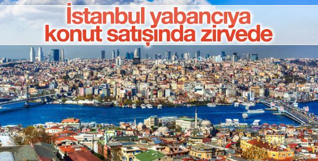 İstanbul yabancıya konut satışında ilk sırada yer aldı