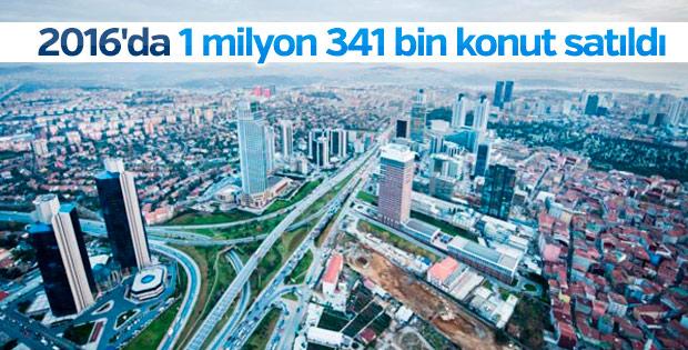 Türkiye'de konut satışları hız kesmedi