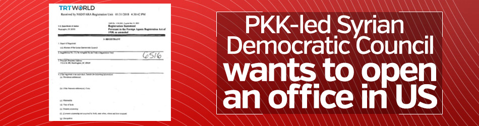 PKK-led Syrian Democratic Council wants to open an office in US