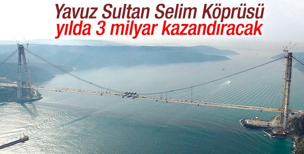 3. Köprü'den 15 bin TIR geçecek