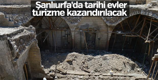 Şanlıurfa'da tarihi evler turizme kazandırılacak
