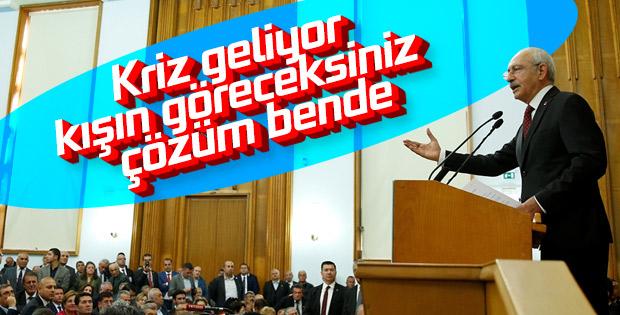 Kemal Kılıçdaroğlu CHP grup toplantısında
