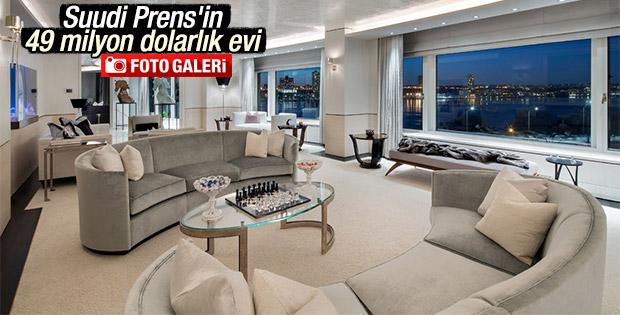 Suudi Prens'in New York'taki evi göz kamaştırıyor