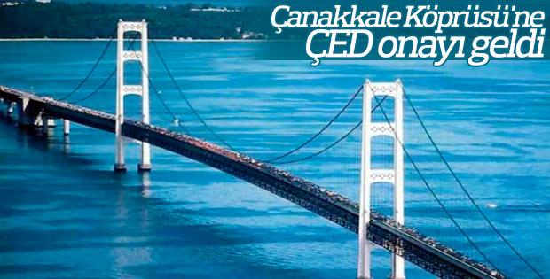 Çanakkale Köprüsü'ne ÇED onayı