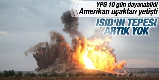 ABD IŞİD'in elindeki tepeyi yok etti