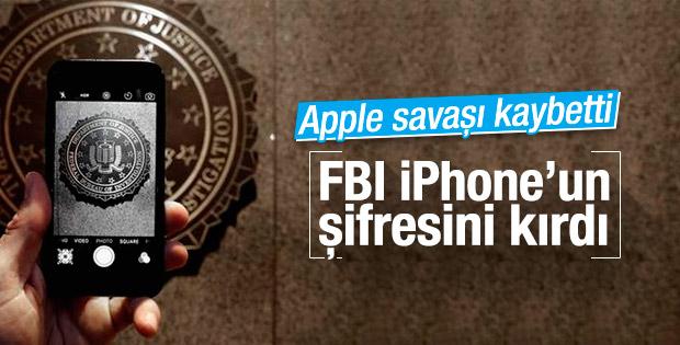 FBI Apple'ı alt etti: iPhone'un şifresi kırıldı