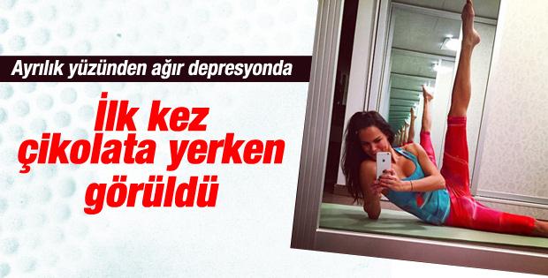 Sinan Akçıl'dan ayrılan Ebru Şallı depresyona girdi