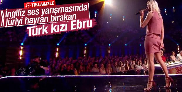İngiltere'deki yarışmaya Türk kızı damga vurdu