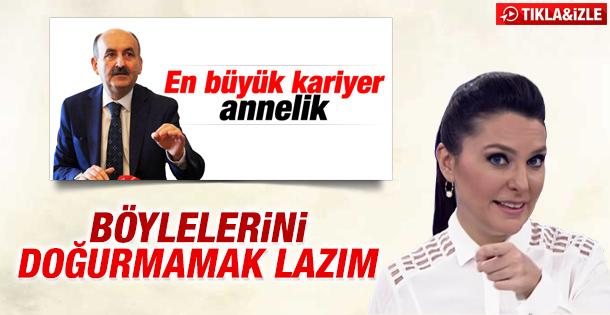 Ece Üner'den Bakan Müezzinoğlu'na tepki İZLE