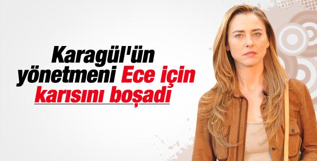 Ece Uslu'nun yönetmen sevgilisi boşandı
