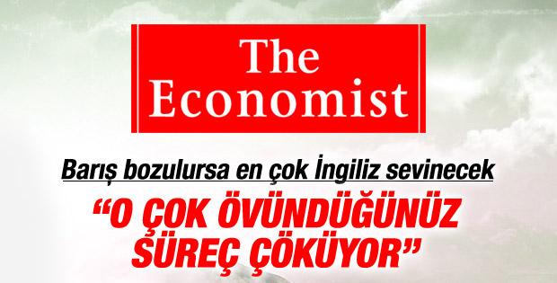 Economist: Erdoğan'ın övündüğü süreç çöküyor