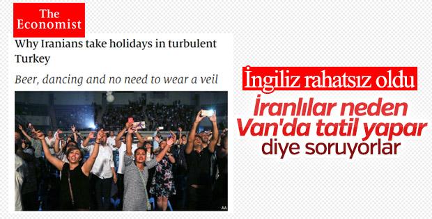 Economist: İranlılar neden tatil için Van'a akın ediyor