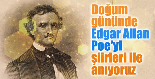 Doğum gününde Edgar Allan Poe şiirleri
