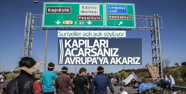 Suriyeliler Türkiye kapıları açarsa Avrupa'ya gidecek