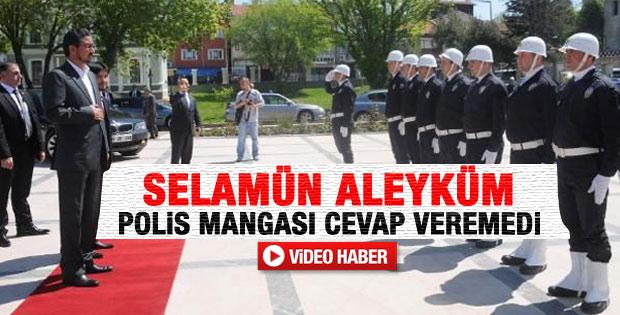 Edirne Valiliği'nde Selamün Aleyküm krizi