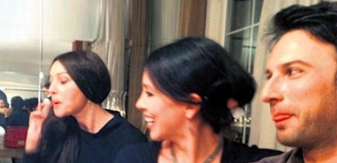 Tarkan ile Monica Bellucci'nin sürpriz buluşması