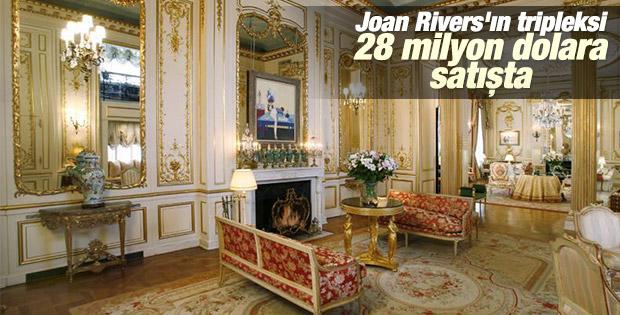 Joan Rivers'ın tripleksi 28 milyon dolara satışta
