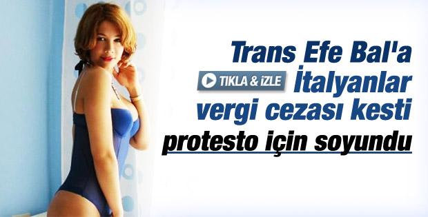Türk asıllı trans Efe Bal'a İtalya'dan 425 bin euro ceza