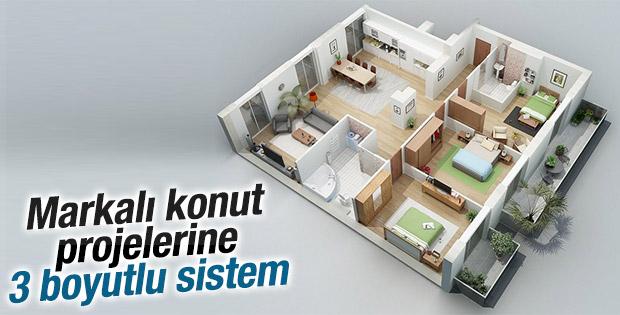 Ev almak isteyenlere 3 boyutlu hizmet