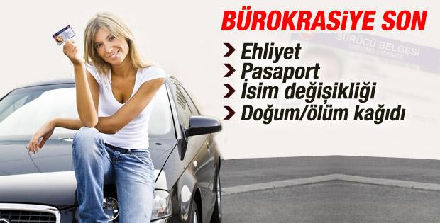 Başbakan Davutoğlu: Pasaport için artık emniyete gidilmeyecek İZLE