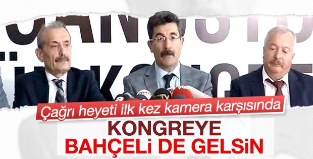 MHP Çağrı Heyeti'nden Bahçeli'ye davet