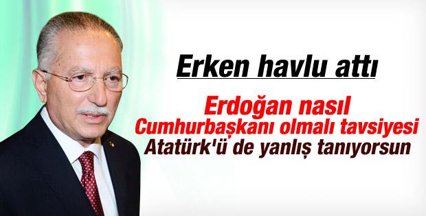 Ekmeleddin İhsanoğlu'nun İzmir konuşması İZLE