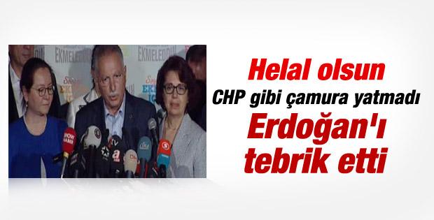 İhsanoğlu'ndan seçim sonuçlarına ilk açıklama