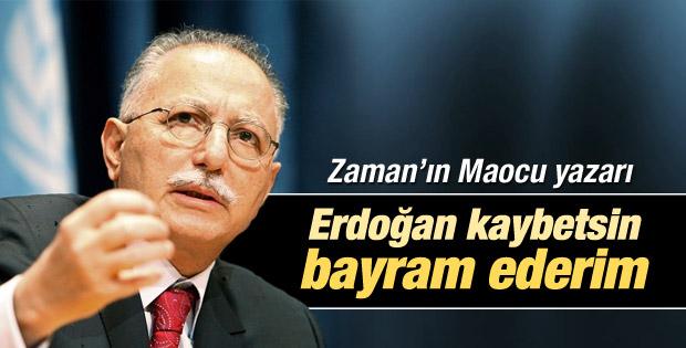 Şahin Alpay: Erdoğan kaybetsin bayram ederim