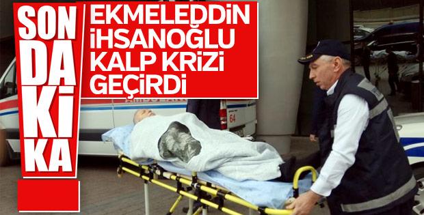 MHP milletvekili Ekmeleddin İhsanoğlu kalp krizi geçirdi