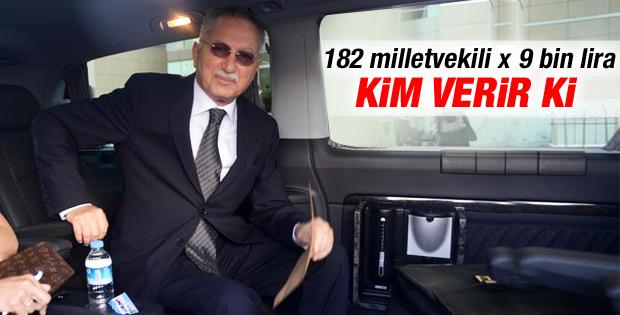 İhsanoğlu'na kampanyası için 20 milyon lira gerekiyor