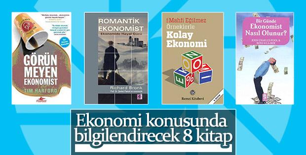 Ekonomi alanında bilgilenmek için 8 kitap önerisi