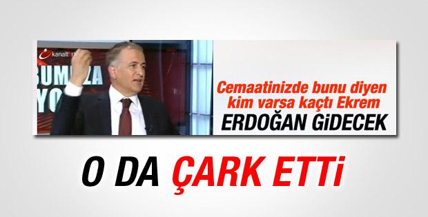 Ekrem Dumanlı Erdoğan hakkındaki sözlerinden çark etti