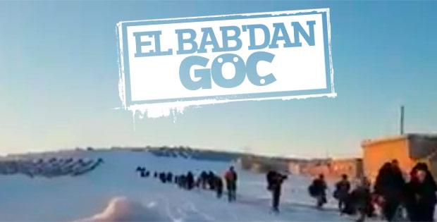 El Bab'dan göç devam ediyor