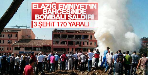 Elazığ'da patlama