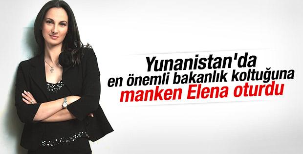 Yunanistan'ın yeni Turizm Bakanı Elena Kuntura