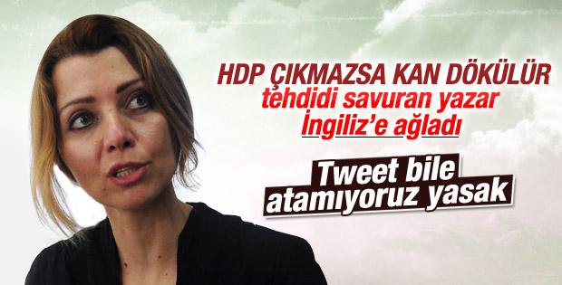 Elif Şafak Türkiye'yi The Guardian'a şikayet etti