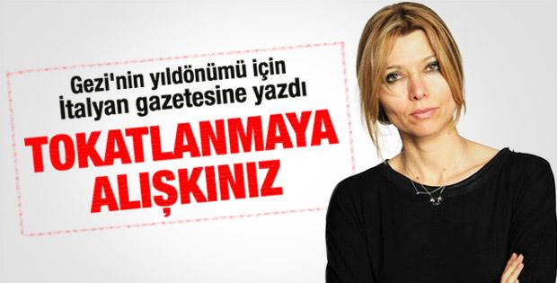 Elif Şafak: Türk milleti tokatlanmaya alışkındır