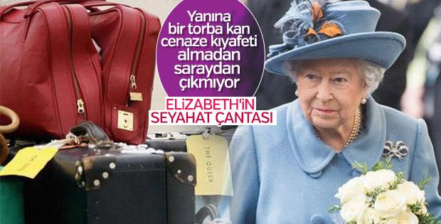 Kraliçe Elizabeth'in seyahat bavulunda olan tuhaflıklar