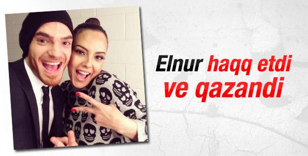 Azerilerin Elnur Huseyinov sevinci