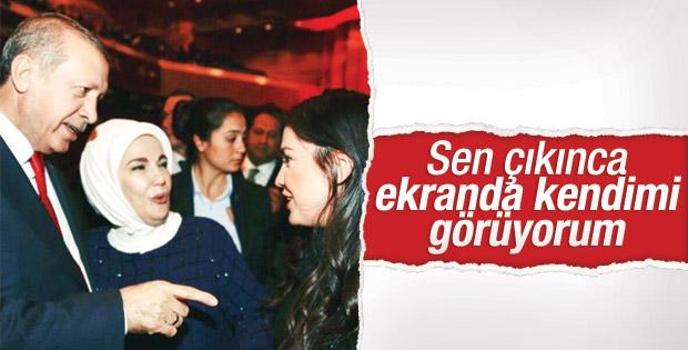Erdoğan'ın en beğendiği oyuncu Özlem Balcı konuştu