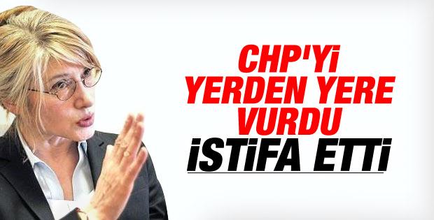 CHP'li Emine Ülker Tarhan istifa etti