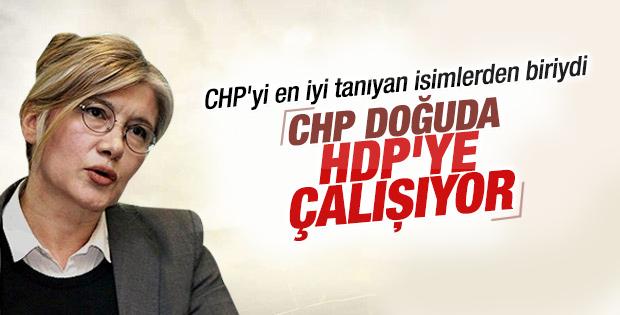Emine Ülker'den CHP-HDP işbirliği iddiası