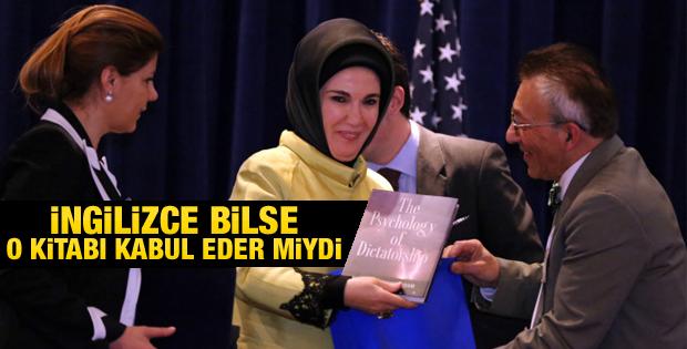 ABD'de Emine Erdoğan'a hediye edilen kitap