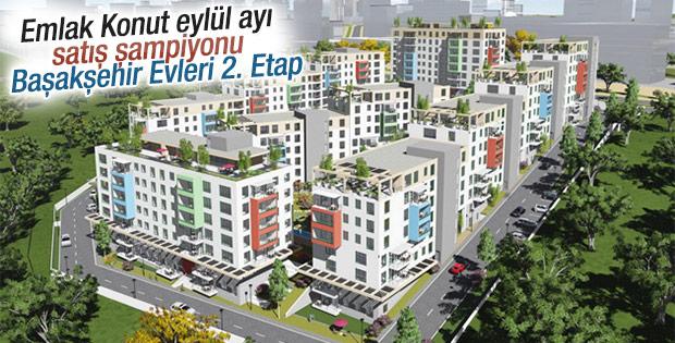 Eylül ayı satış şampiyonu Başakşehir Evleri 2. Etap