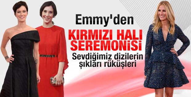 66. Emmy Ödül Töreni Kırmızı Halı İZLE