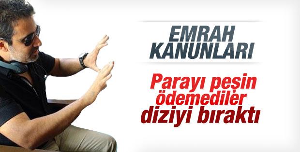 Emrah Erdoğan Unutmadım dizisinden ayrıldı
