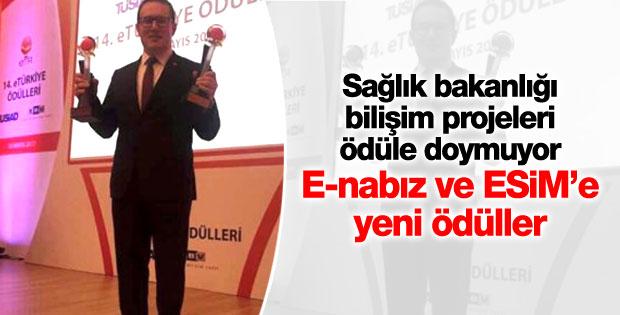 E-Nabız ve ESİM ikinci kez e-Devlet Ödülü kazandı
