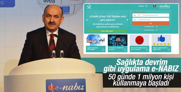 e-Nabız rekora koşuyor
